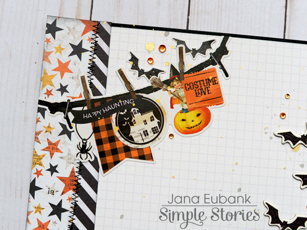 Simple Stories - Boo Layout