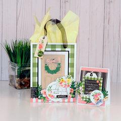 Door Gift Bag & Coordinating Card