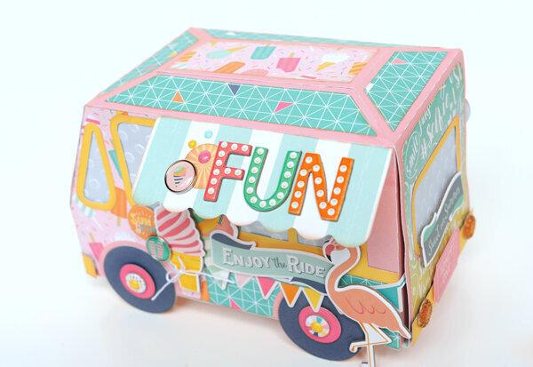 Ice Cream Truck Gift Box