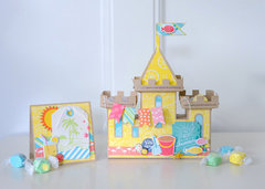 Echo Park Paper Summer Party Sandcastle & Card
