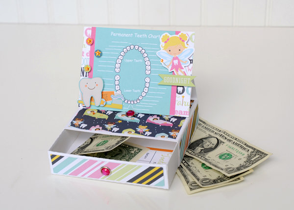 Echo Park Tooth Fairy Keepsake Box