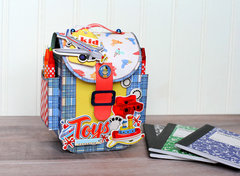 Carta Bella Paper Toy Box Activity Backpack