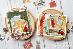 Simple Stories Winter Farmhouse Cards