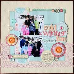 Cold Winter Fun *Noel Mignon Lemonade Stand Kit*