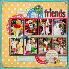 Disney Friends *Noel Mignon Playdate Kit*