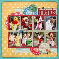 Disney Friends *Noel Mignon Playdate Kit*