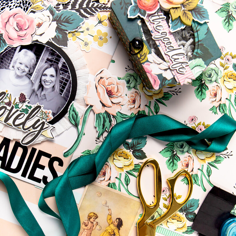 Lovely Ladies Mother's Day Layout