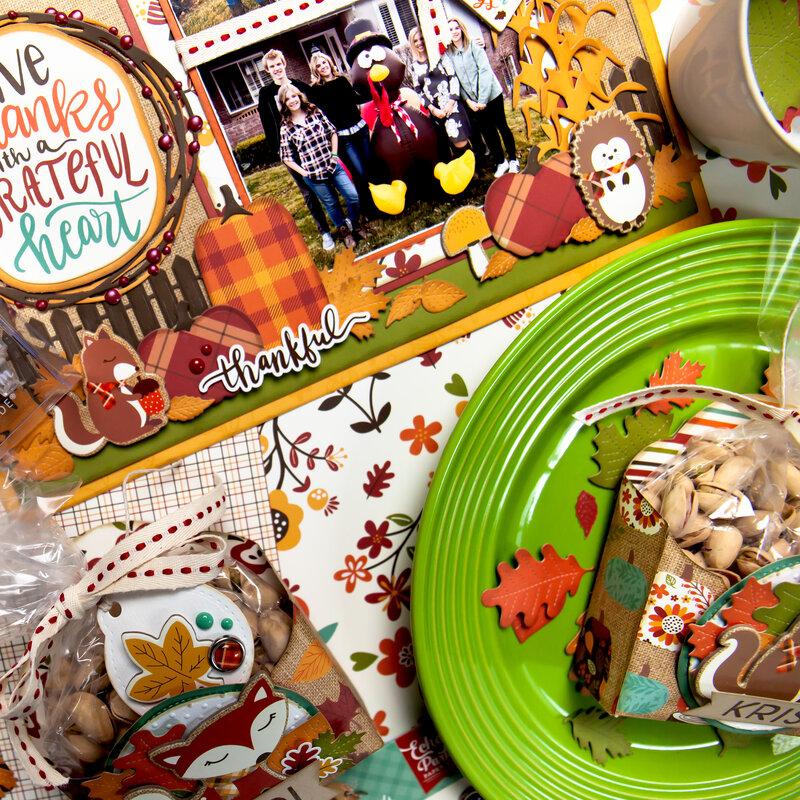 Thanksgiving Treat Pocket Placecards