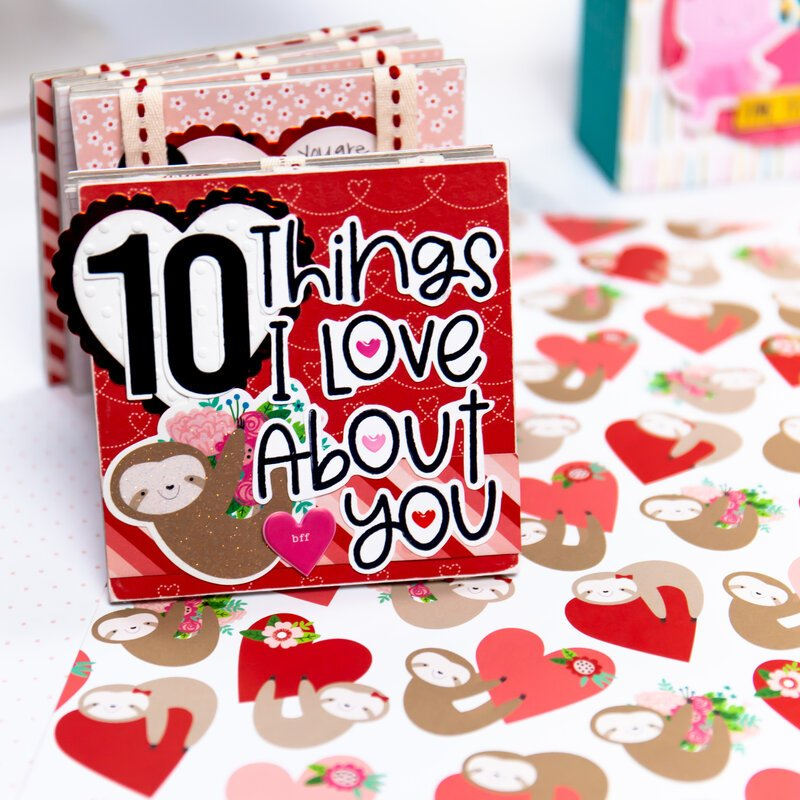 10 Things I Love About You Valentine Mini Album