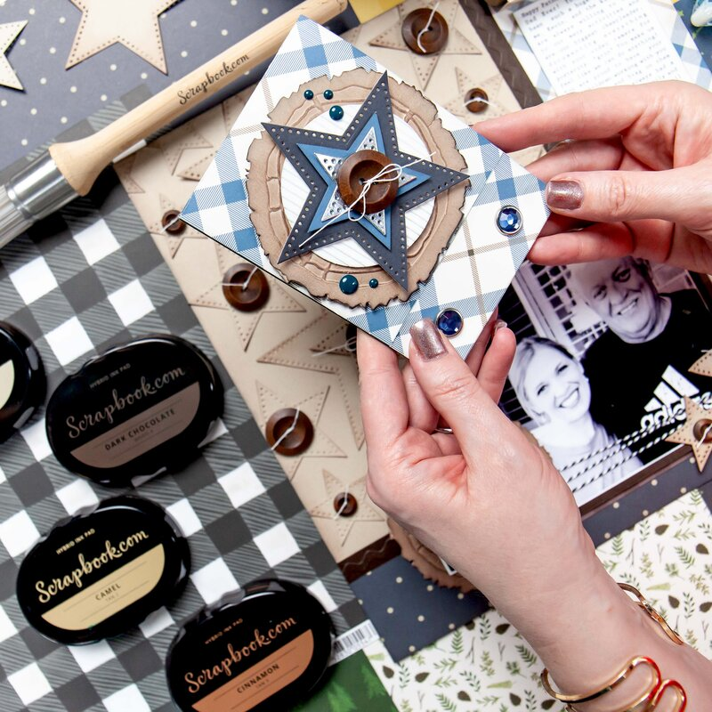Father's Day Gift Card Matchbook & Cookie Box