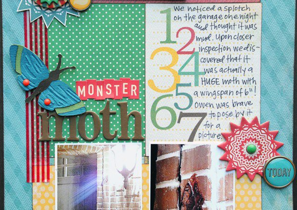 Monster Moth *My Mind's Eye*