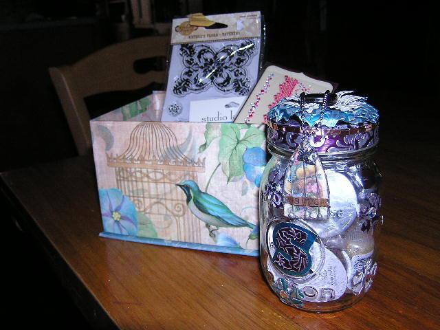 Altered Mason Jar from SS