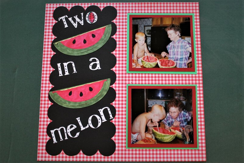 Two in a melon