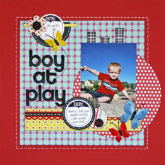 Boy at Play *Sweet Peach*