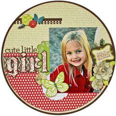 Girl *Paper Poppy*