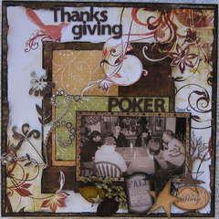 Thanksgiving Poker!