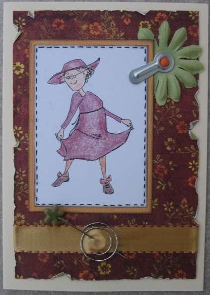 A grandma card