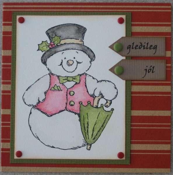 Fabrizio´s Christmas Card Challenge