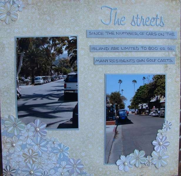 The Streets of Avalon, left page