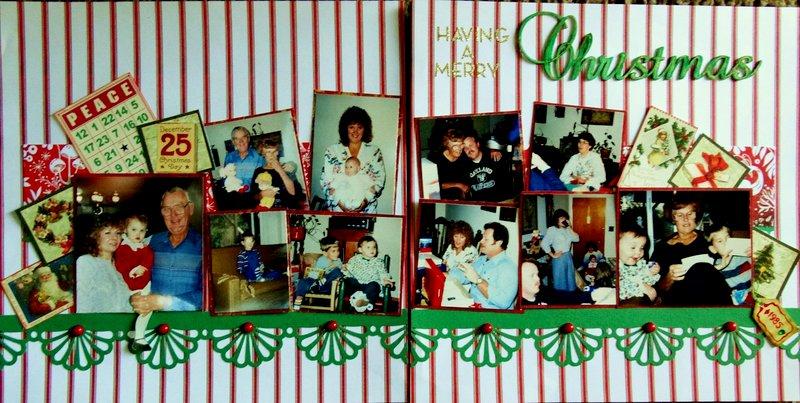 having a Merry Christmas