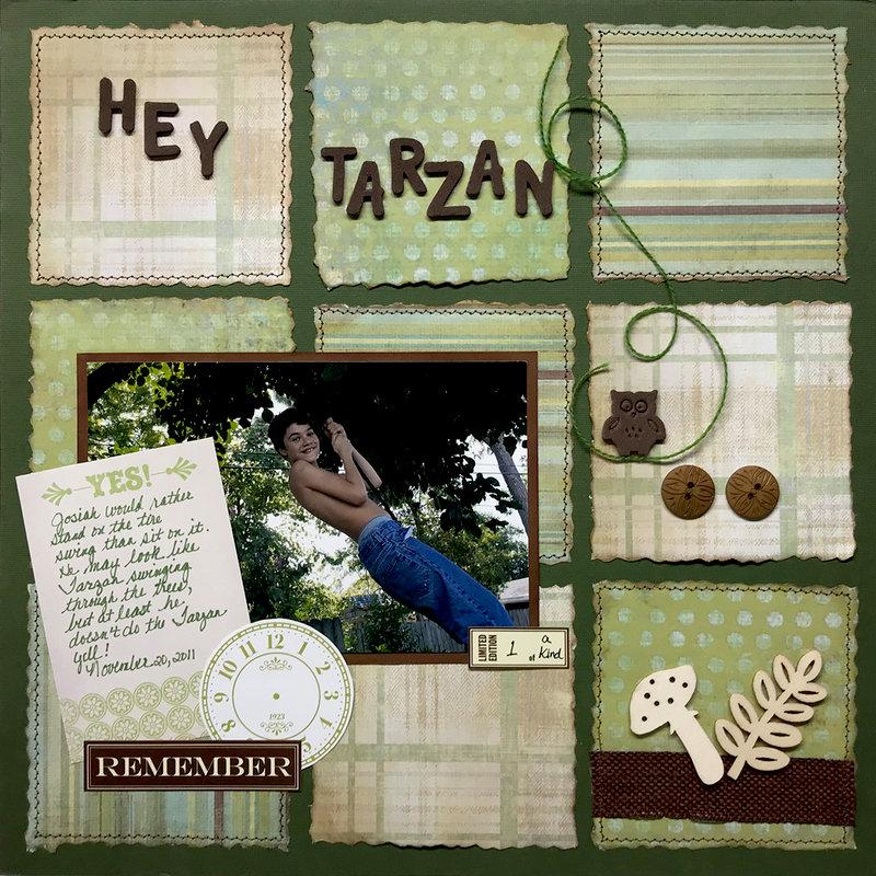 Hey Tarzan