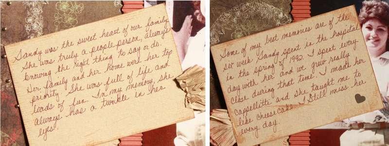 Sandy - hidden journaling