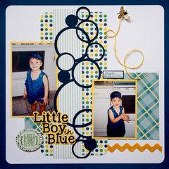 Little Boy in Blue