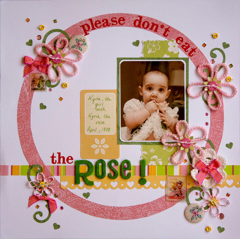please don*t eat the Rose!