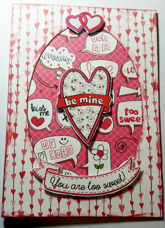 Be Mine Valentines Card