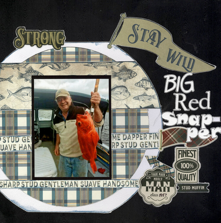 Big Red Snapper