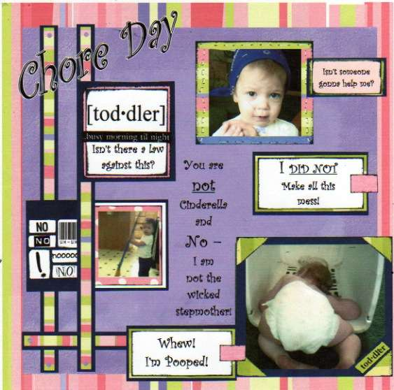 Chore Day with a Toddler