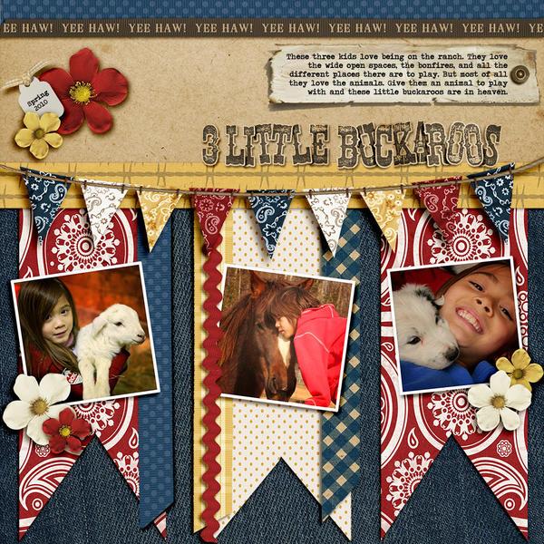 3 Little Buckaroos