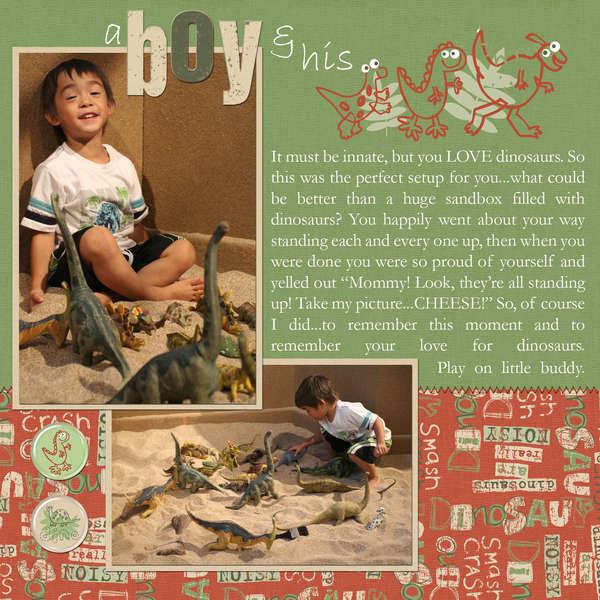 A Boy & His Dinos