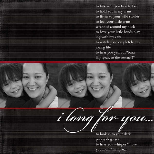 I Long For You