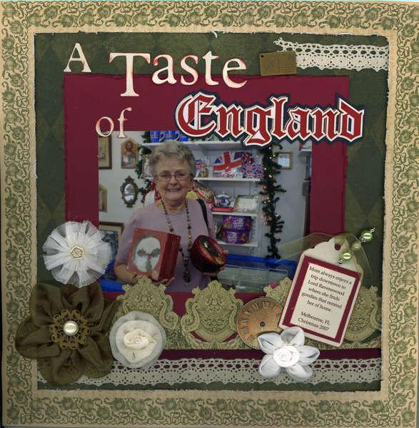 a Taste of England