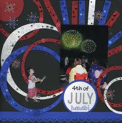 4th of July Hanabi (fireworks)