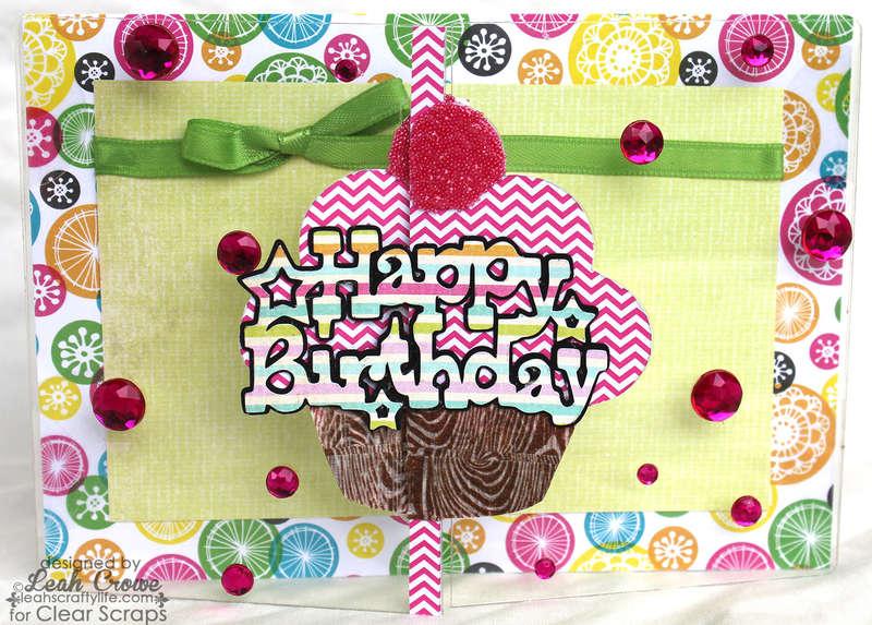 Happy Birthday *Clear Scraps*