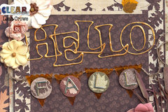 Acrylic Clipboard Fall Decor