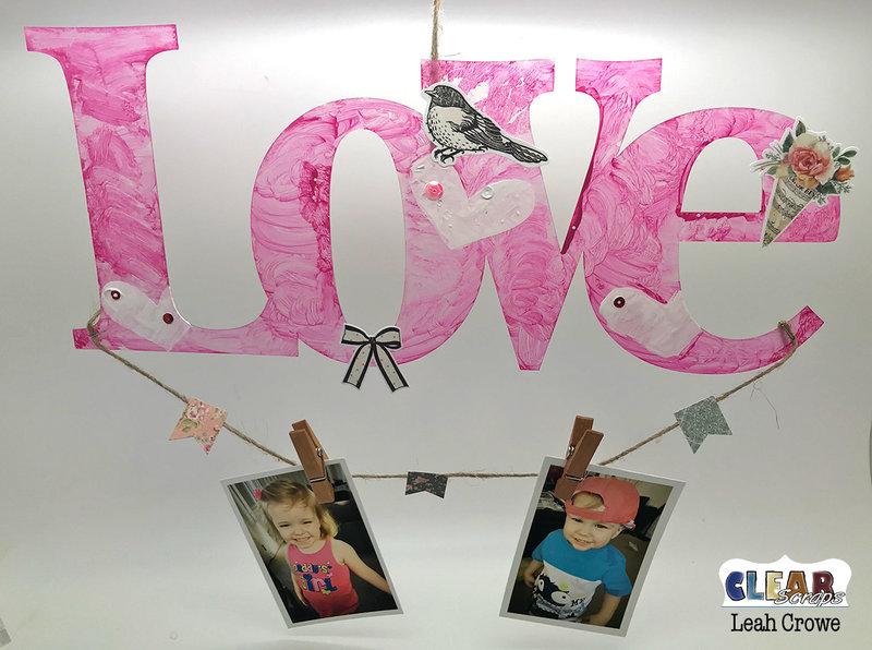 LOVE photo home decor