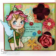 tiptoe thru the flowers...