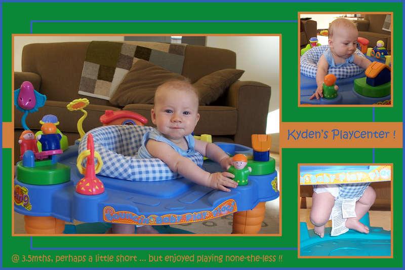 Kyden's Playcentre !