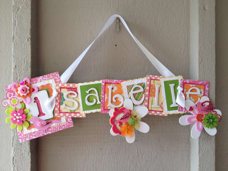 Isabelle Name Sign