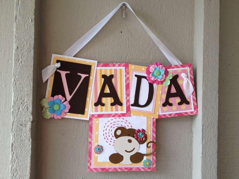 Vada Name Sign