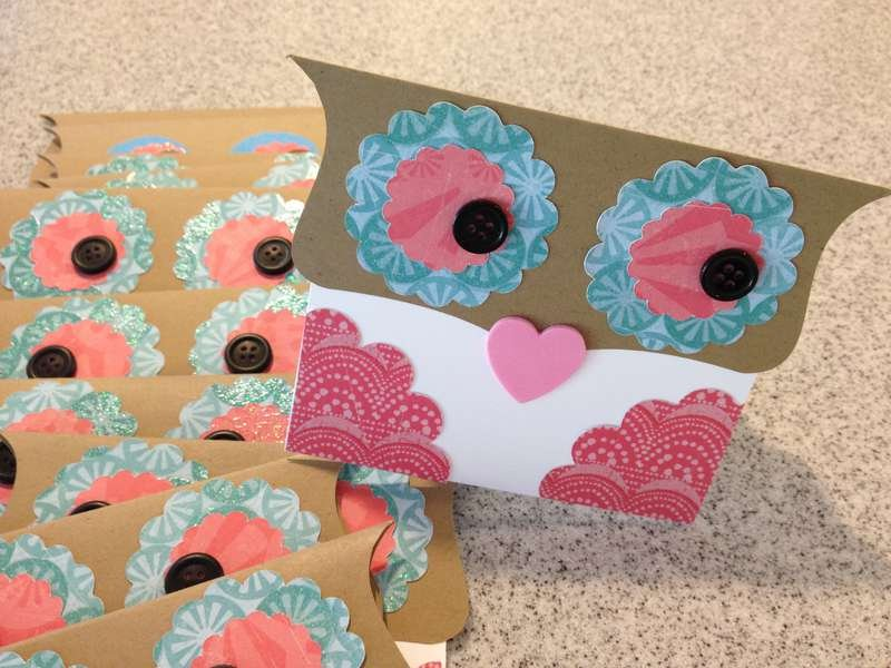 Kid's Craft Challenge (HIMCR04NSD) Owl Thank You Cards