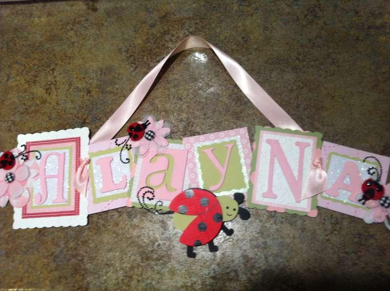 Alayna Name Sign