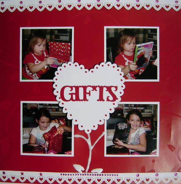 Valentine's Day 2012 - Gifts layout (page 2)