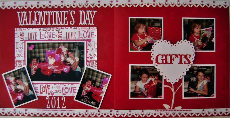 Valentine's Day 2012 (2 page layout)