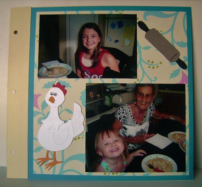 Chicken Pot Pie recipe layout (2nd page)