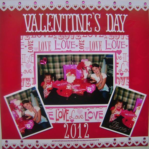 Valentine's Day 2012 layout