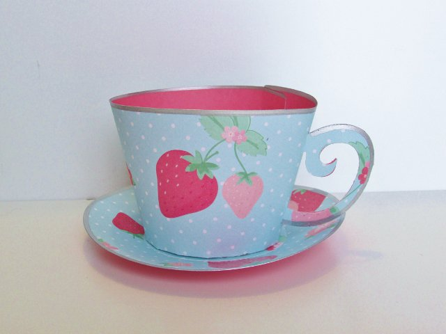 Mother's Day 3-D Tea Cup